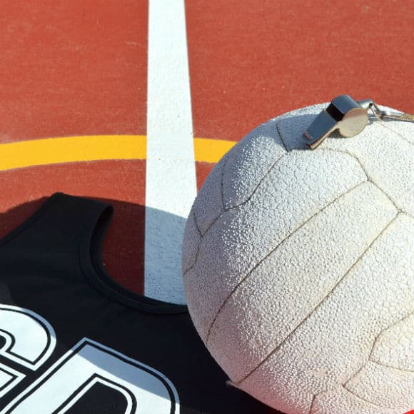 Whistle on netball to promote leading netball insurance brokers Full-Time Cover