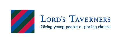 Lord's Taverners' charity logo supported by leading sports insurance broker Full-time Cover