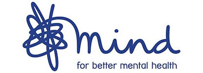 Mind Charity logo supported by leading sports insurance broker Full-time Cover